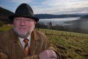 Willie Cameron, HITA 2005 Highlands and Islands Ambassador of the Year at Loch Ness