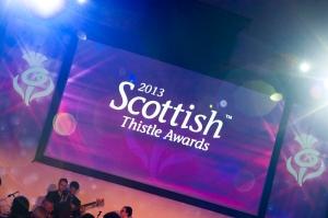 Scottish Thistle Awards 2013. Picture by Chris Watt.